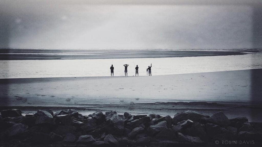 Robin Davis Photography Workshop on St. Simons Island Coastal Georgia USA composition with morning fishermen