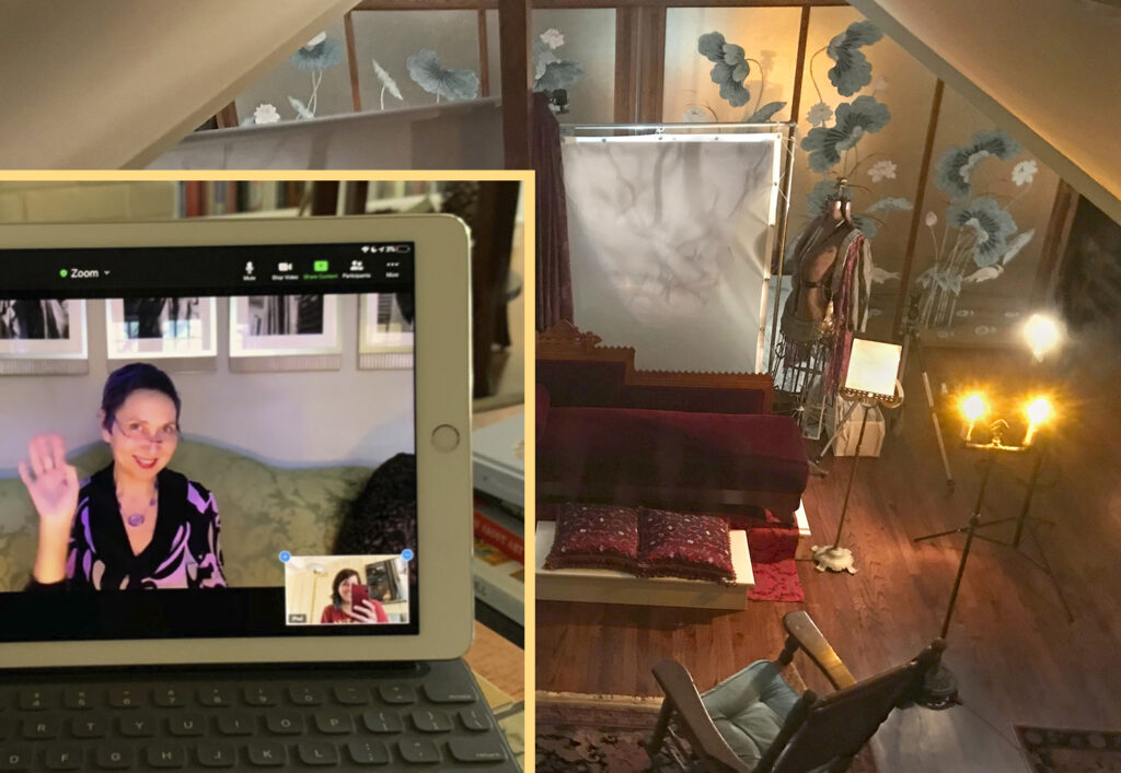 Robin Davis Online Photo Sessions One on One personal Mentoring live from her studio